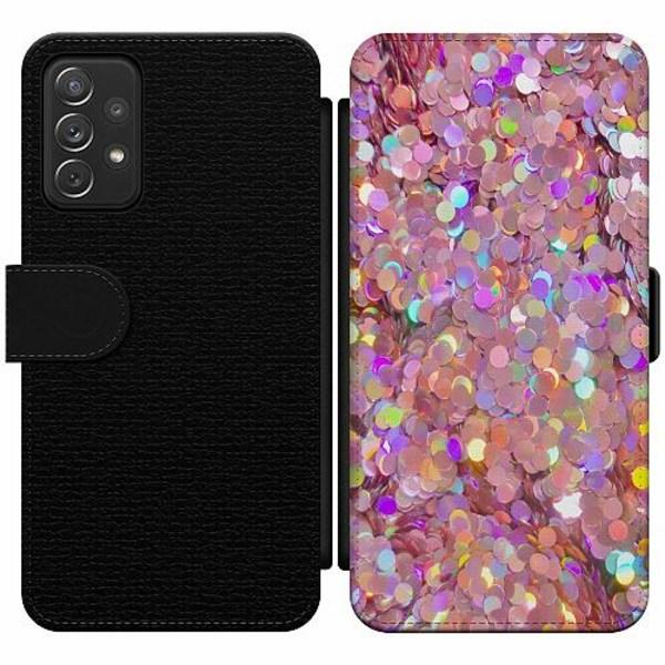 Samsung Galaxy A52 5G Wallet Slim Case Glitter