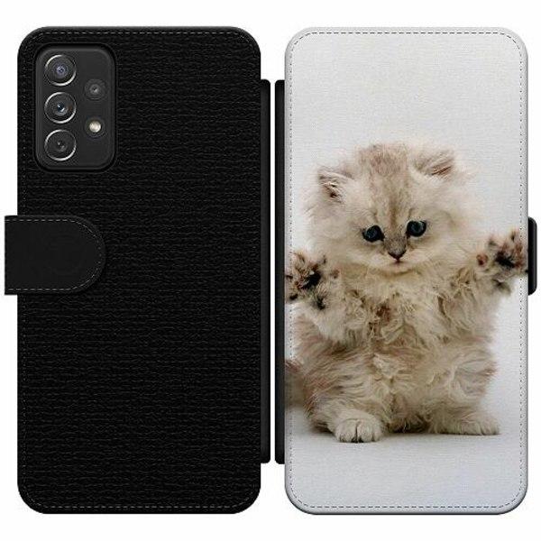 Samsung Galaxy A52 5G Wallet Slim Case Katt