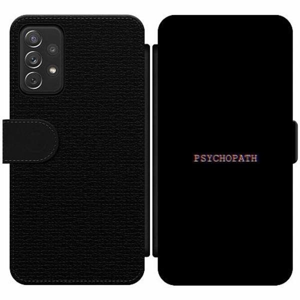 Samsung Galaxy A52 5G Wallet Slim Case Psychopath
