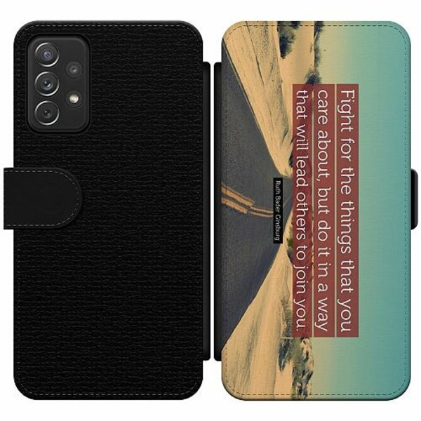 Samsung Galaxy A52 5G Wallet Slim Case Ruth Bader Ginsburg (RBG)
