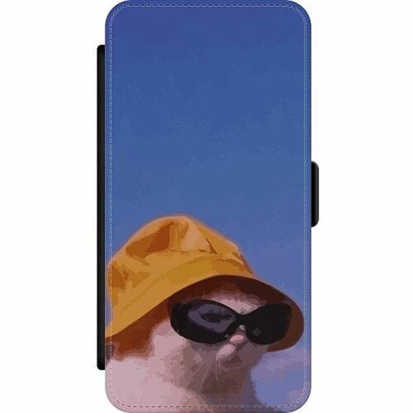 Samsung Galaxy A52 5G Wallet Slim Case Say What, Cat