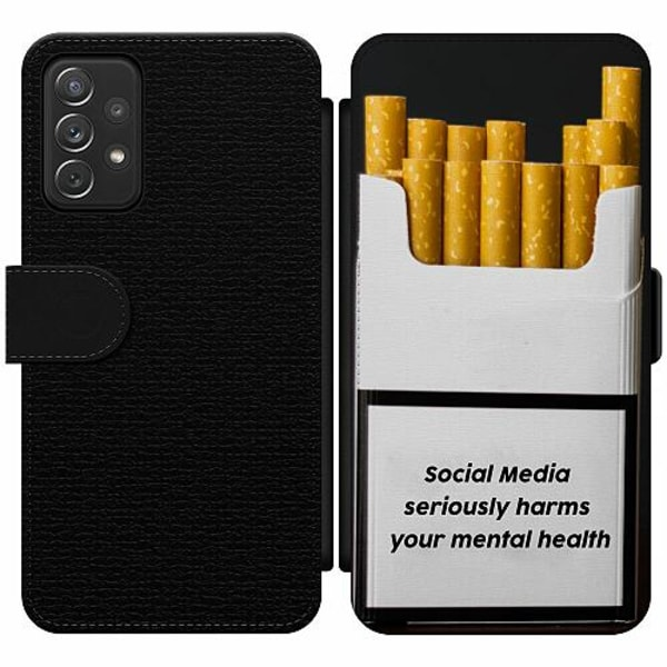 Samsung Galaxy A52 5G Wallet Slim Case Social Media Harms...