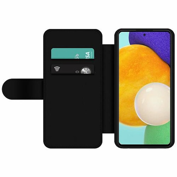 Samsung Galaxy A52 5G Wallet Slim Case Arenaceous Feathers