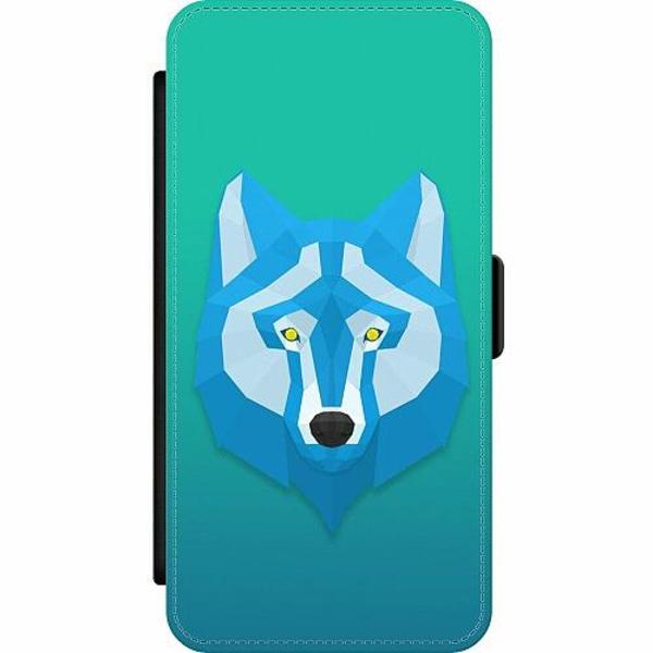 Samsung Galaxy A52 5G Wallet Slim Case Wolf / Varg