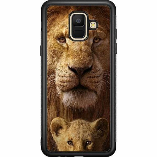 Samsung Galaxy A6 (2018) Soft Case (Svart) Lejon
