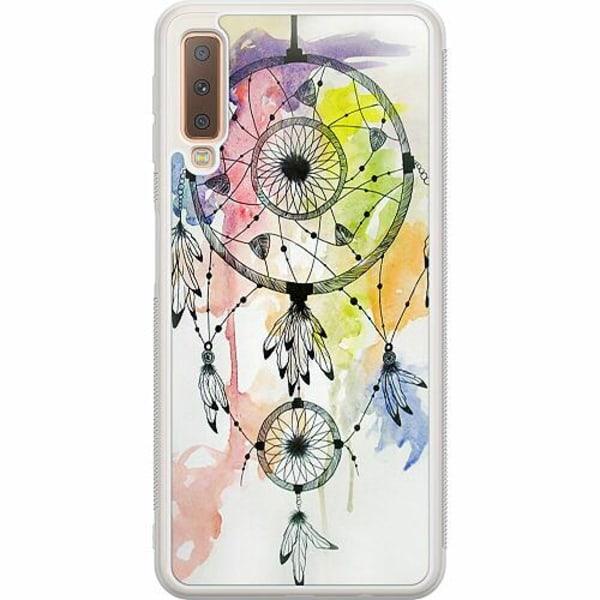 Samsung Galaxy A7 (2018) Soft Case (Frostad) Drömfångare
