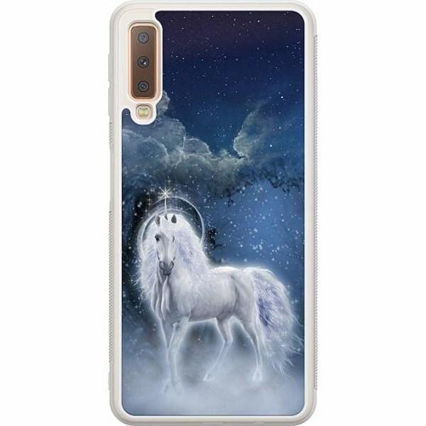 Samsung Galaxy A7 (2018) Soft Case (Frostad) Magical Horse