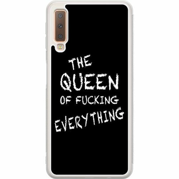 Samsung Galaxy A7 (2018) Soft Case (Frostad) Queen of Everything