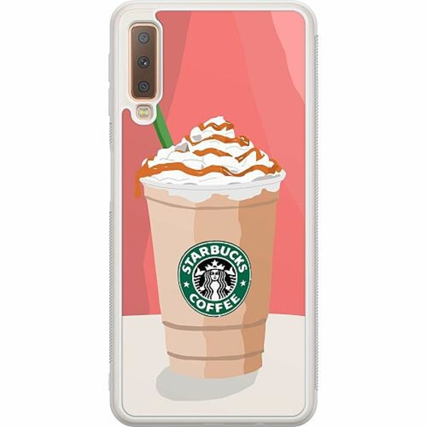 Samsung Galaxy A7 (2018) Soft Case (Frostad) Starbucks