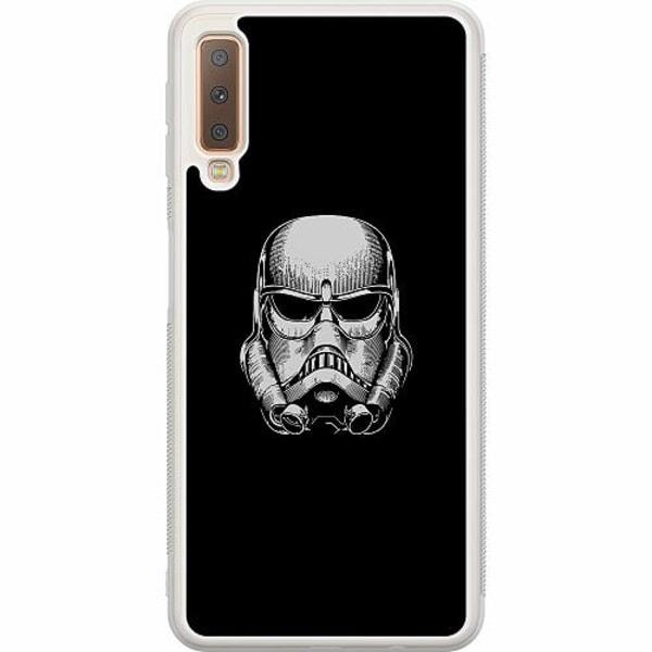 Samsung Galaxy A7 (2018) Soft Case (Frostad) Stormtrooper