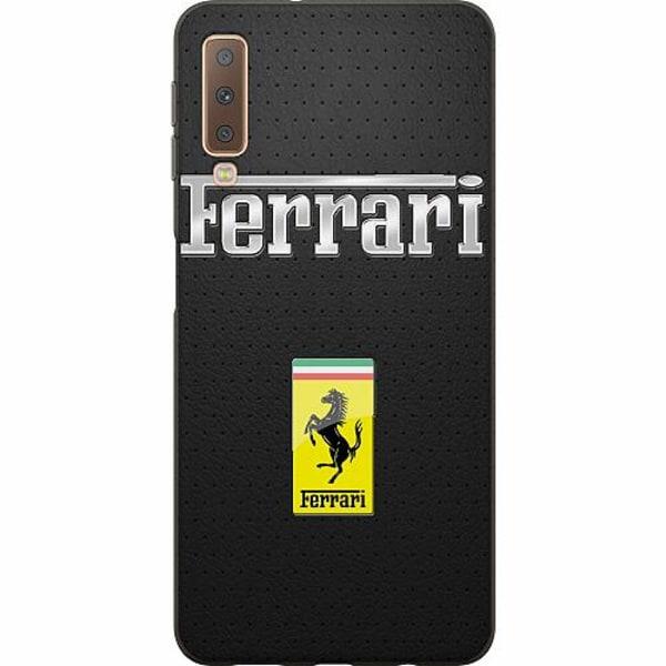 Samsung Galaxy A7 (2018) Mjukt skal - Ferrari