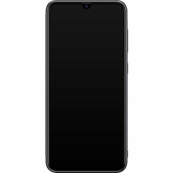 Samsung Galaxy A70 Soft Case (Svart) Pride - Non-Binary