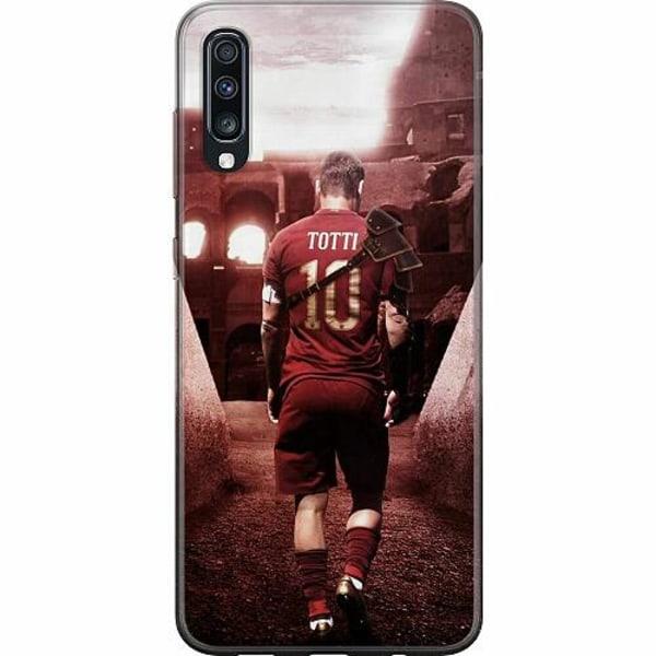 Samsung Galaxy A70 Thin Case Francesco Totti