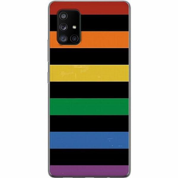 Samsung Galaxy A71 5G Thin Case Pride