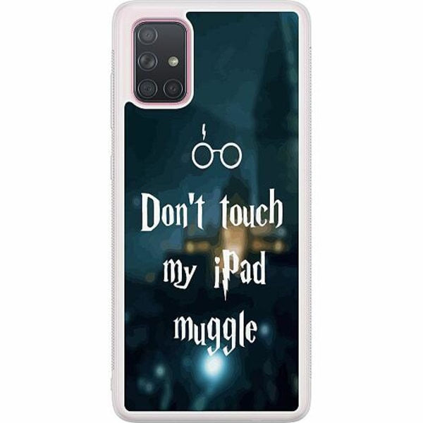 Samsung Galaxy A71 Soft Case (Frostad) Harry Potter