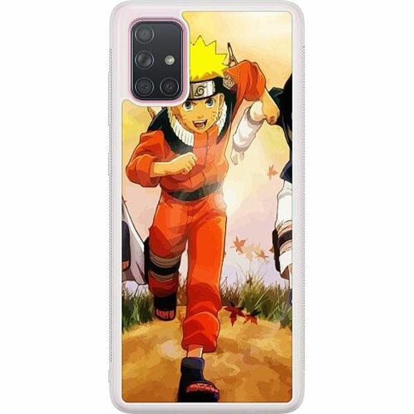 Samsung Galaxy A71 Soft Case (Frostad) Naruto