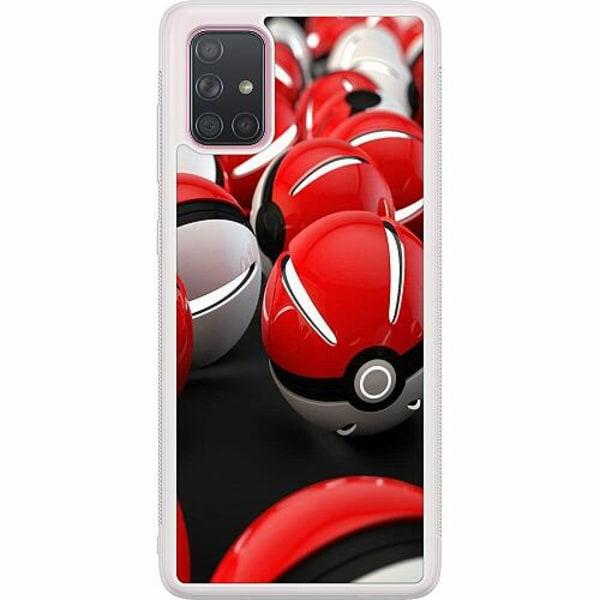 Samsung Galaxy A71 Soft Case (Frostad) Pokemon