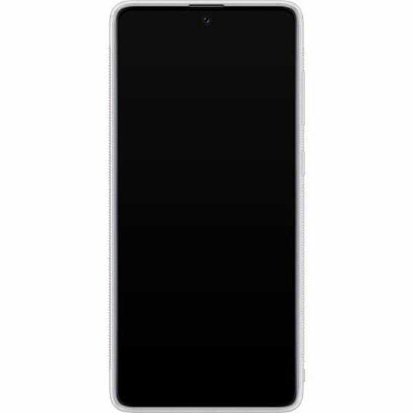 Samsung Galaxy A71 Soft Case (Frostad) Cut In Half