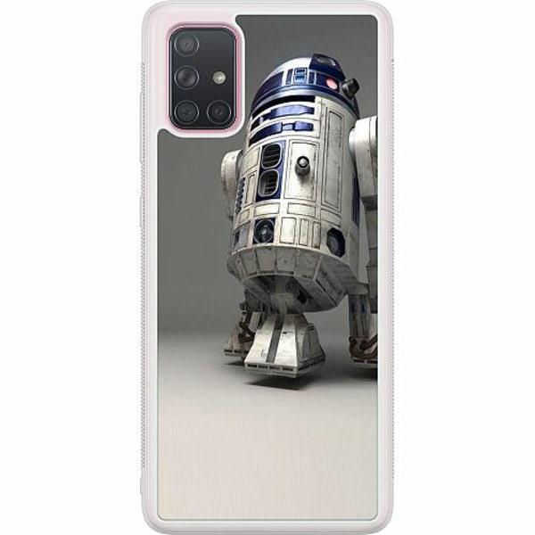 Samsung Galaxy A71 Soft Case (Frostad) R2D2 Star Wars
