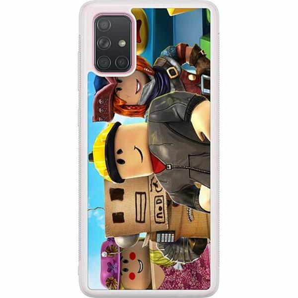 Samsung Galaxy A71 Soft Case (Frostad) Roblox
