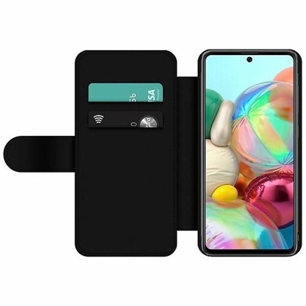 Samsung Galaxy A71 Wallet Slim Case Billie Eilish 2021