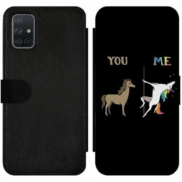 Samsung Galaxy A71 Wallet Slim Case Me