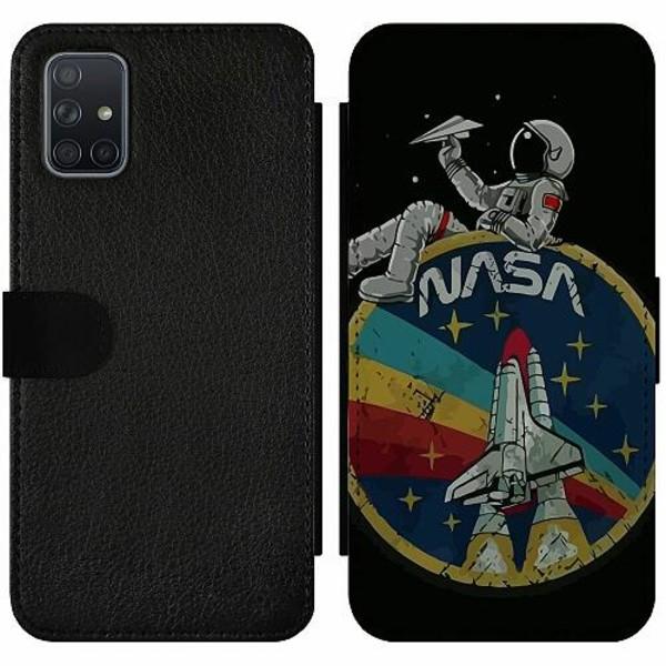 Samsung Galaxy A71 Wallet Slim Case Nasa