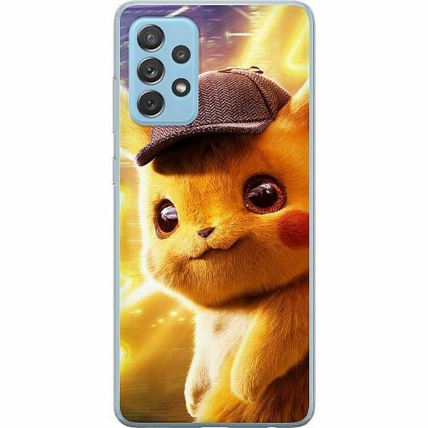 Samsung Galaxy A72 5G Mjukt skal - Detective Pikachu - Pikachu