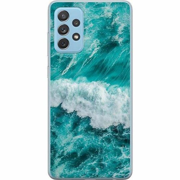 Samsung Galaxy A72 5G Mjukt skal - Ocean