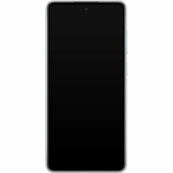 Samsung Galaxy A72 5G Mjukt skal - Cherry Blossom