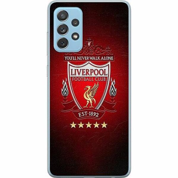 Samsung Galaxy A72 5G Mjukt skal - YNWA Liverpool
