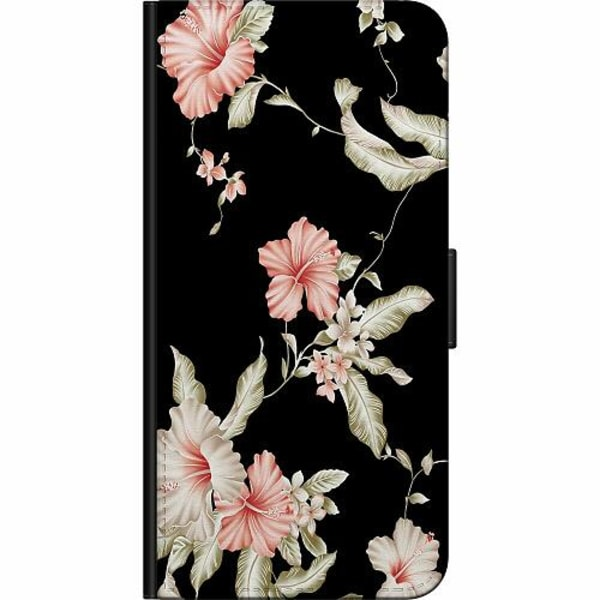 Samsung Galaxy A11 Fodralväska Blommor
