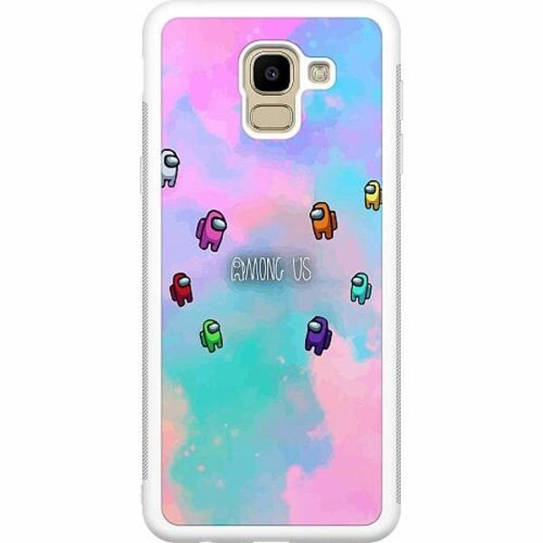 Samsung Galaxy J6 (2018) Soft Case (Vit) Among Us