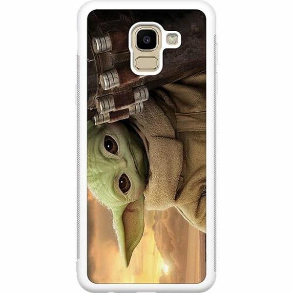 Samsung Galaxy J6 (2018) Soft Case (Vit) Baby Yoda