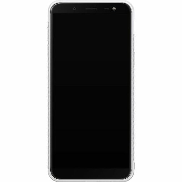 Samsung Galaxy J6 (2018) Soft Case (Vit) Marmor
