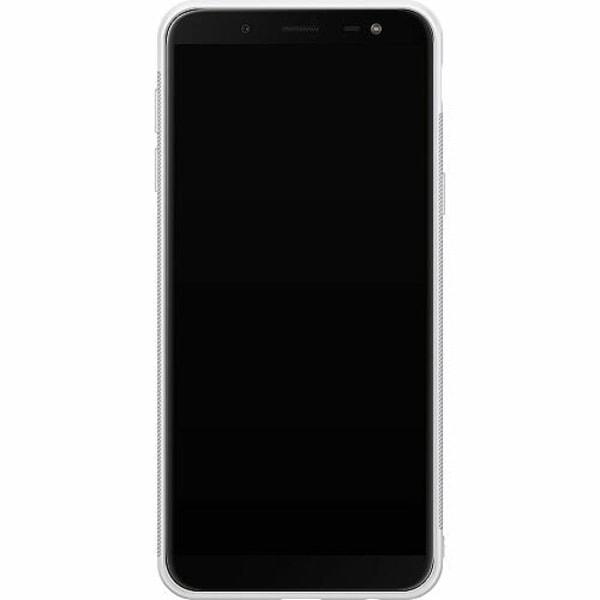 Samsung Galaxy J6 (2018) Soft Case (Vit) Pinksknip