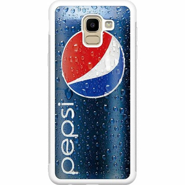 Samsung Galaxy J6 (2018) Soft Case (Vit) Pepsi