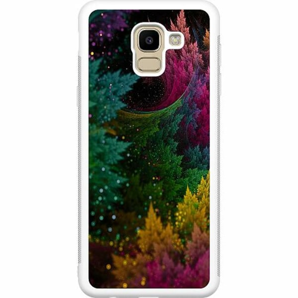 Samsung Galaxy J6 (2018) Soft Case (Vit) PixyDust