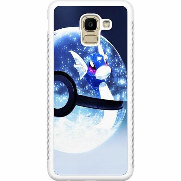 Samsung Galaxy J6 (2018) Soft Case (Vit) Pokemon