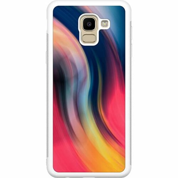 Samsung Galaxy J6 (2018) Soft Case (Vit) Startup