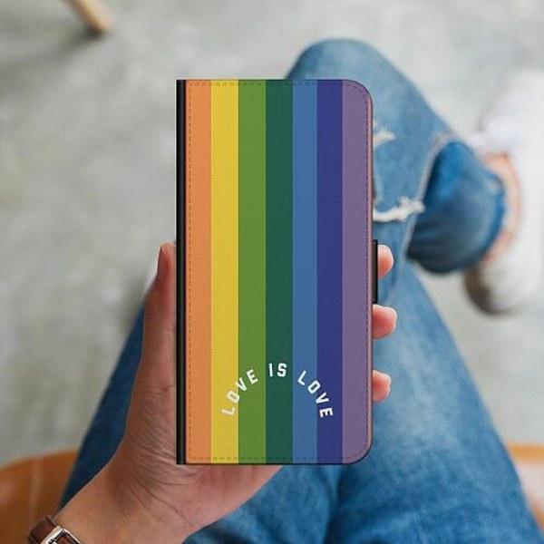 Sony Xperia L3 Plånboksskal Love is Love - Pride