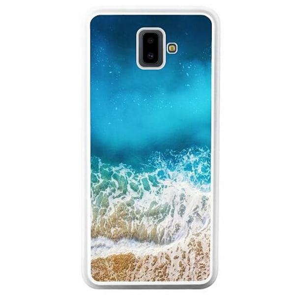 Samsung Galaxy J6 Plus (2018) Soft Case (Vit) Beach Please