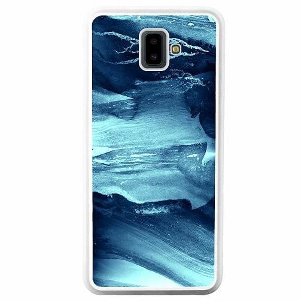 Samsung Galaxy J6 Plus (2018) Soft Case (Vit) Deep Sea