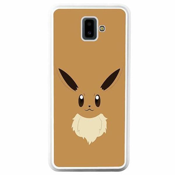 Samsung Galaxy J6 Plus (2018) Soft Case (Vit) Pokémon - Eevee