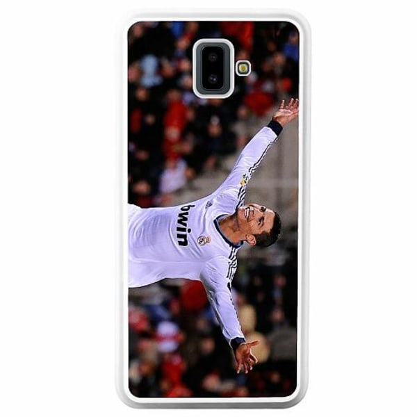 Samsung Galaxy J6 Plus (2018) Soft Case (Vit) Ronaldo