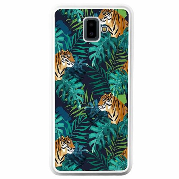 Samsung Galaxy J6 Plus (2018) Soft Case (Vit) Tiger