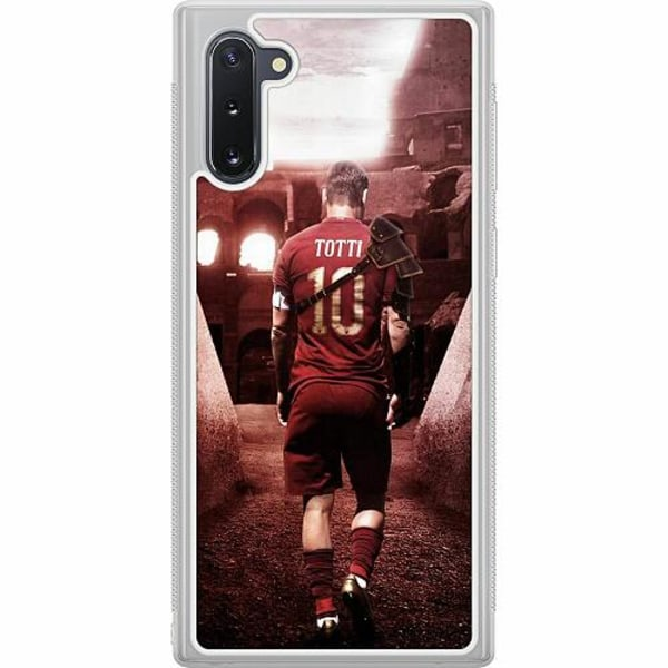 Samsung Galaxy Note 10 Soft Case (Frostad) Francesco Totti