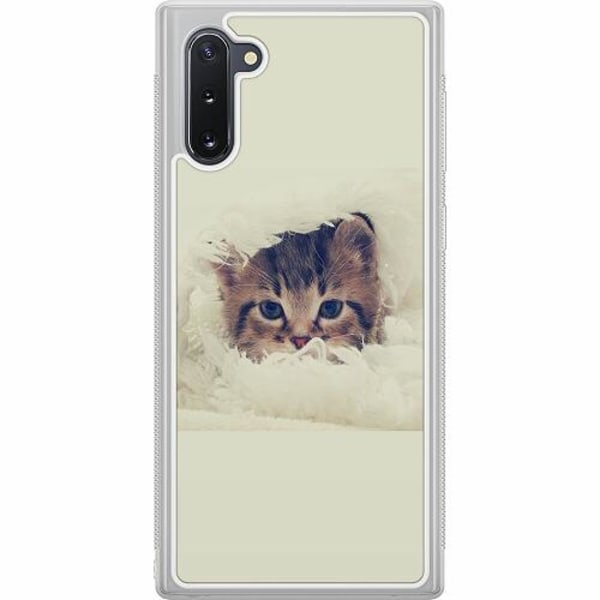Samsung Galaxy Note 10 Soft Case (Frostad) Grumpy Cat