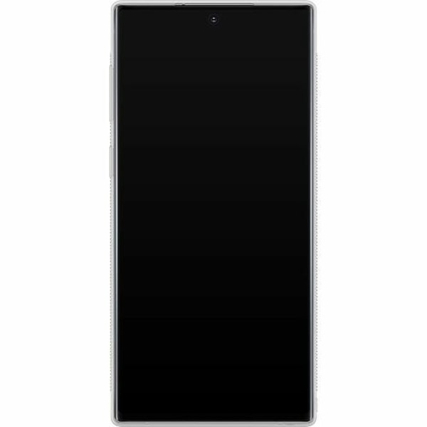 Samsung Galaxy Note 10 Soft Case (Frostad) Blommor