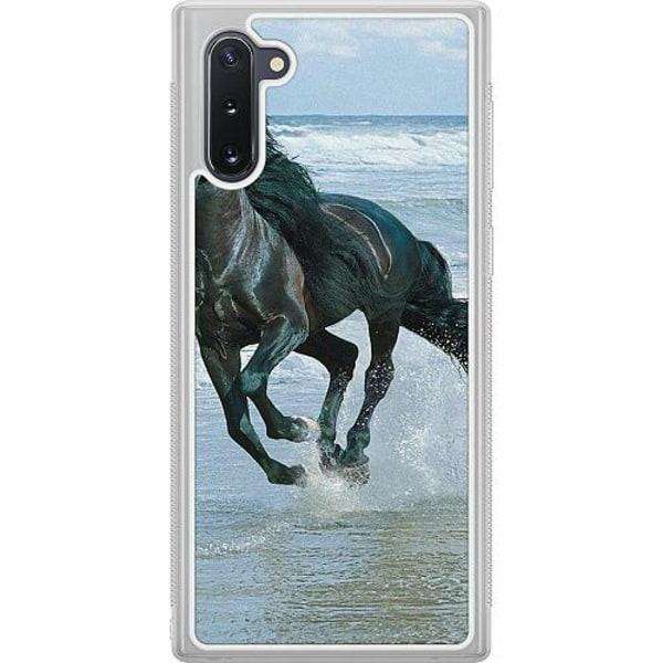 Samsung Galaxy Note 10 Soft Case (Frostad) Häst / Horse